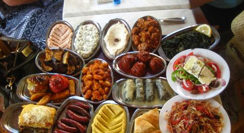 Spoilt For Choice - The Meze Selection at Scholarhio