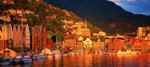 Bryggen in Bergen - Where I Once Studied...