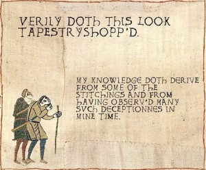 Thou Kiddeth?! Not a Tapestry?!