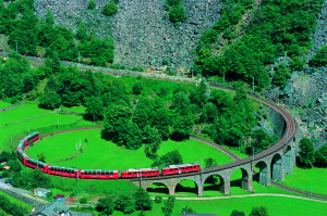 The Stunning Bernina Express