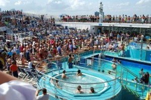 Really You Were On A Cruise And It Was Crowded?