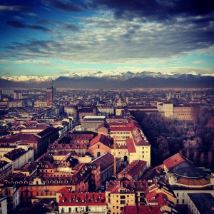 The Skyline of Turin...