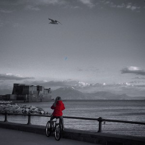 Red Girl - Bay of Naples...