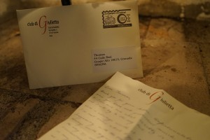 Letter From Juliet